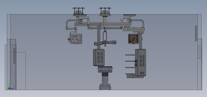 Solid Works eDrawing - Operating Room Layout - 3
